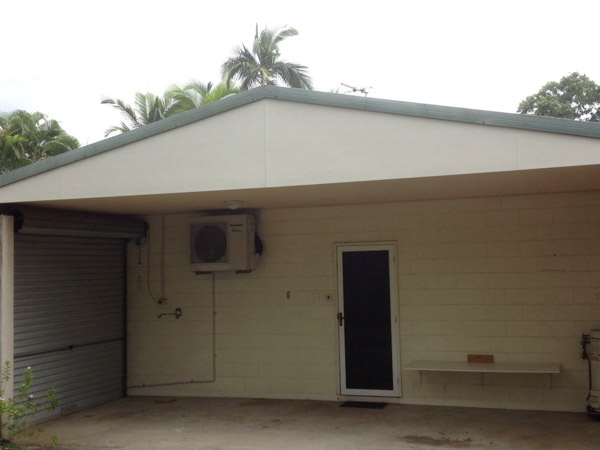 carport gable after